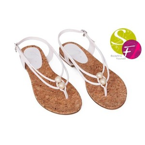 Classic Flats Sandals For Women 352 - White