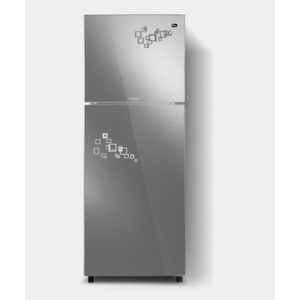 PEL Inverter Curved Glass Door Refrigerator PRINVOGD 6250 Silver