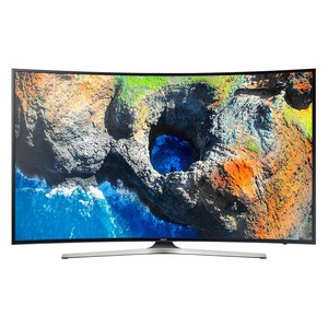 49 Inch UHD 4K Curved Smart TV MU7350 Series 7 Bla ...