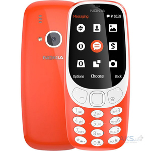 "Nokia 3310 Screen 2.4"" QVGA, 16MB ROM, Feature Phone Red-master"
