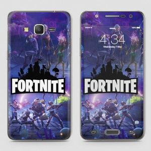 SkinLee Samsung J7 Core HQ Vinyl Skin Wrap Warrior Multicolor