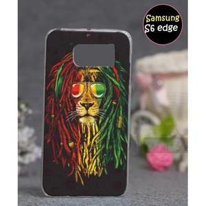 Samsung S6 Edge Cover Lion SA-5020 Multi Color