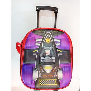 Nursery Prep Class Car Slider School Bag Multicolor