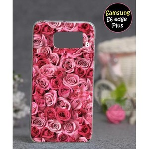 Samsung S6 Edge Plus Fancy Cover SA-5371 Red