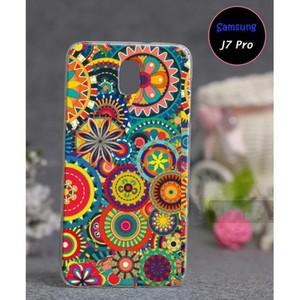 Samsung J7 Pro Soft Fancy Cover SA-5551 Multi Colo ...