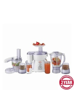 Westpoint 9 In 1 Jumbo Food Factory With Extra Grinder WF-2803 White