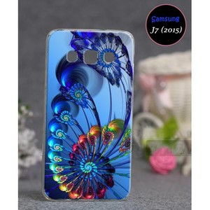 Samsung J7 2015 Fancy Cover SA-4909 Blue