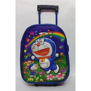 3D Doremoon Slider School Bag (Nursery Prep) Class Multicolor