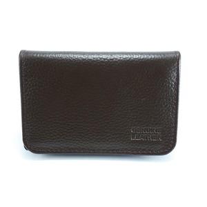 Mild Cow Leather Cardholder CB004 - Dark Brown