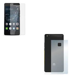 2.5D Tempered Screen Protector + Back Protector Matte for + Huawei P9 Lite Transparent