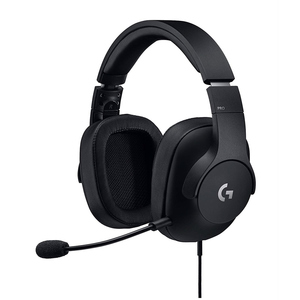 Logitech G Pro Gaming Headset with Pro Grade Mic for Pc, Pc Vr, Mac, Xbox One, Playstation 4, Nintendo Switch Black