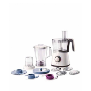Philips Hr7761/00 Viva Collection Food Processor 750W White