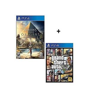 SONY Bundle Offer GTA V, Assassin's Creed Origins