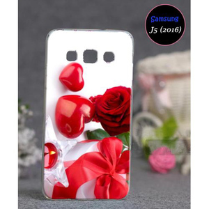 Love Style Cover For Samsung J5 2016 SA-1709 Red
