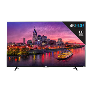 TCL 55 Inch 4K UHD Smart LED TV 55P6 Black