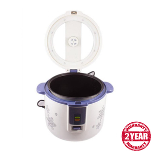 Deluxe Rice Cooker Ag-2021 - White And Blue