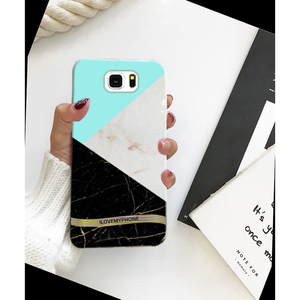 Samsung S6 edge Plus Marble Style 2 Mobile Cover Multi Color