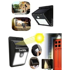 Ever Brite Solar Light Black