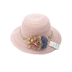 Flowers Sun Rose Hat 44376 Pink