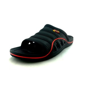 Jolly Rubber Slippers For Men Black