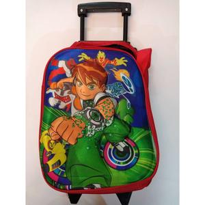 3D Ben 10 Slider School Bag (Nursery Prep) Class Green