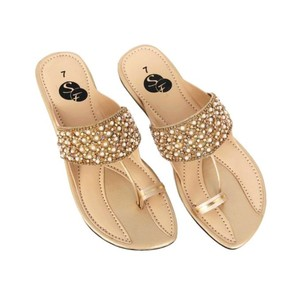 Classic Flats Slippers For Women 431 - Beige