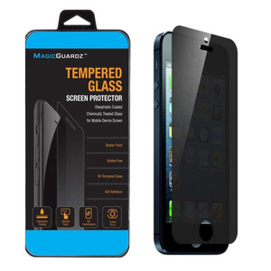Tempered Glass Protector for Iphone 5 Black