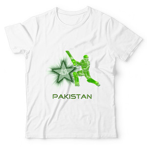 The Warehouse Cricket World Cup Unisex Graphic T-shirt Green & White