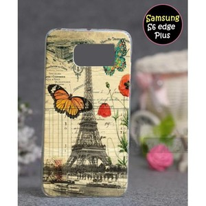 Samsung S6 Edge Plus Mobile Cover Eiffel Tower Sty ...
