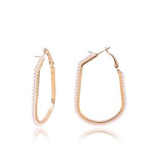 Fashion Cafe Steel Earrings For Women JP-2221 Gold ...