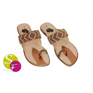 Flat Slippers for Women 441 - Brown
