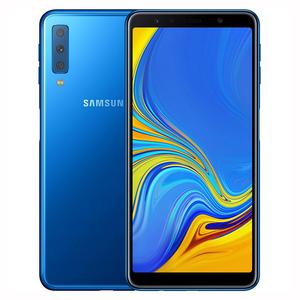 """Samsung Galaxy A7 2018, 6.0"""", 4GB RAM, 128GB ROM, Smartphone Blue"""