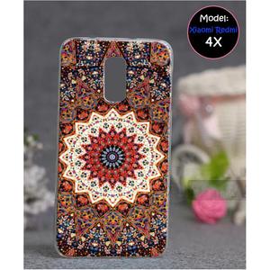 Xiaomi Redmi 4X Floral Style 1 Mobile Back Cover Multi Color