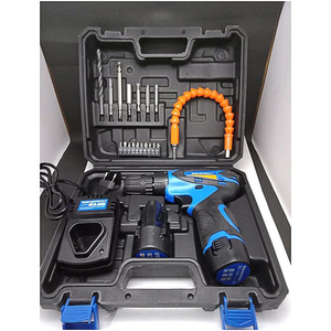Semprox Cordless Drill Machine with Accessories SCD1203 Blue