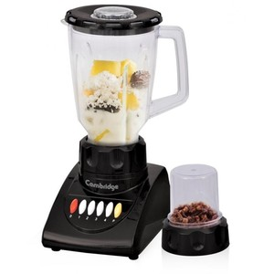 Cambridge 2 in 1 Blender with Mill BL-2086 Black