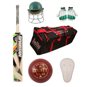 Pack of 6 Spartan Cricket Kit Multicolor