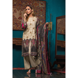 Oaks 3 Pcs Unstitched Khaddar Embroidered Suit For Women OWKHJE3P-3213-A Multicolor