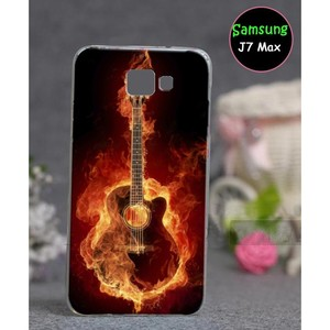 Samsung J7 Max Case - Guitar Case SAA-5324 Red