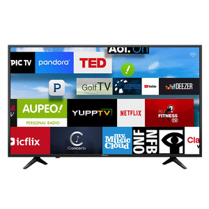 "Hisense 43"" Smart 4K UHD LED TV 43A6100 Black"