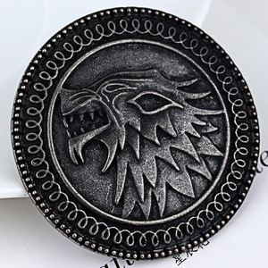 Game Of Thrones Dragon Badge Pendant Brooch For Men