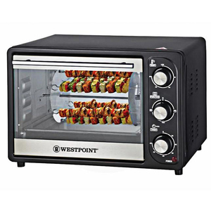 Westpoint Wf-2310 Rk Rotisserie Oven With Kebab Grill 1300 Watts Black