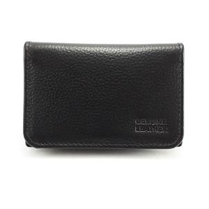Mild Cow Leather Cardholder CB004 - Black