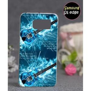 Samsung S6 Edge Mobile Cover Guitar Style SA-3355 ...