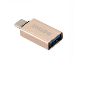 Remax OTG Type-C USB Adapter Golden