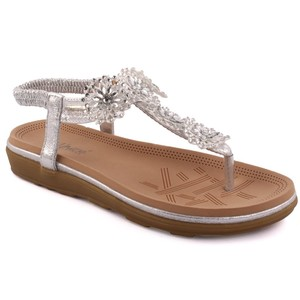 Women Imoga Flat Decorated Summer Sandals
