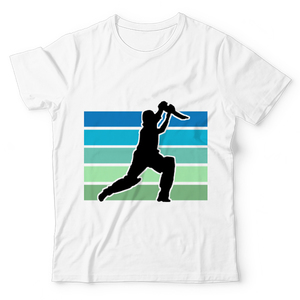 The Warehouse Retro Cricket Graphic Printed T-Shirt For Kids White