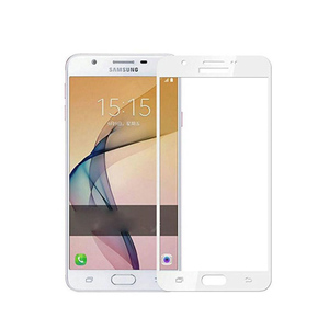 Samsung J7 Prime 4D Complete Tempered Glass White