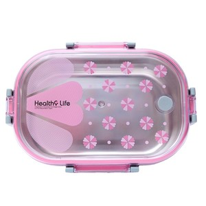 Tedemei Healthy Life Lunch Box Pink