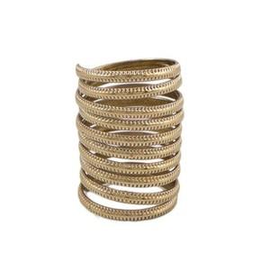 Challa Ring for Unisex J108 Golden