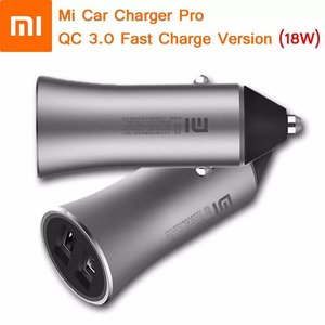 Xiaomi Mi Car Charger Pro QC 3.0 Fast Charge Version 18W Grey